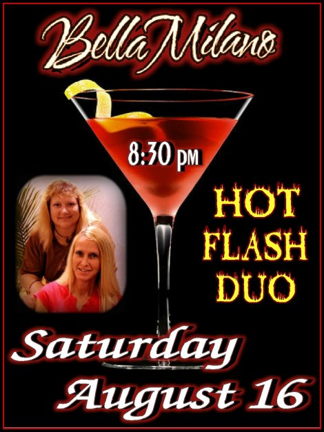 Hot Flash 8-16-14