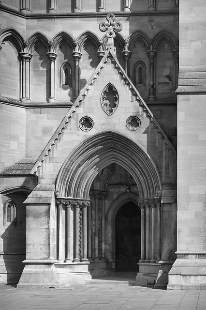 West Door, St Albans Cathedral