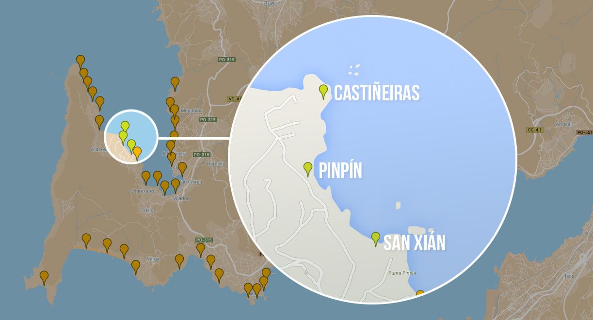 Os mellores sitios para bucear nas Rías Baixas