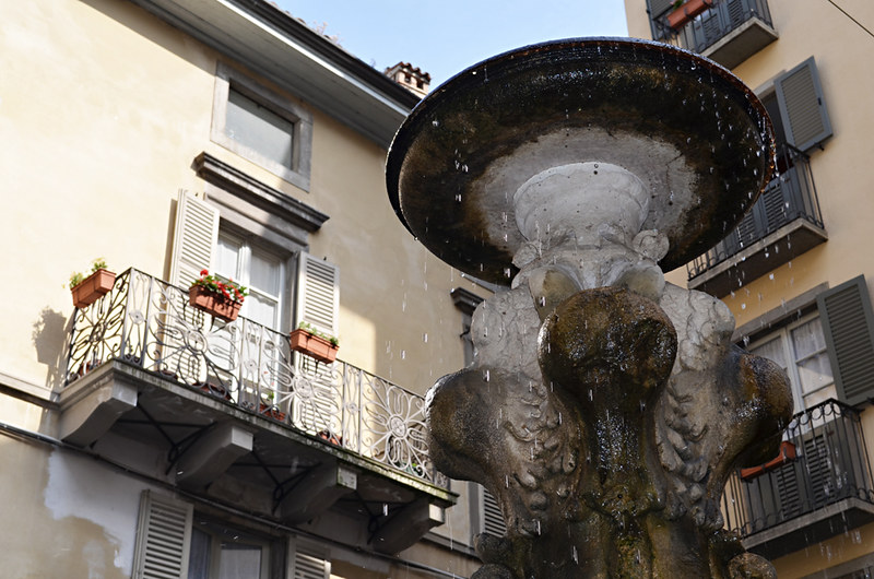 Fountain, Bergamo, Italy