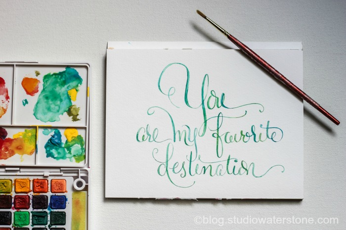 My Sketchbook: You Are My Favorite Destination