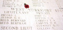 West Yorkshire Regiment at The Ploegsteert Memorial to the Missing
