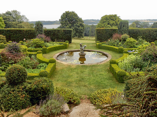 Hambleton Hall gardens
