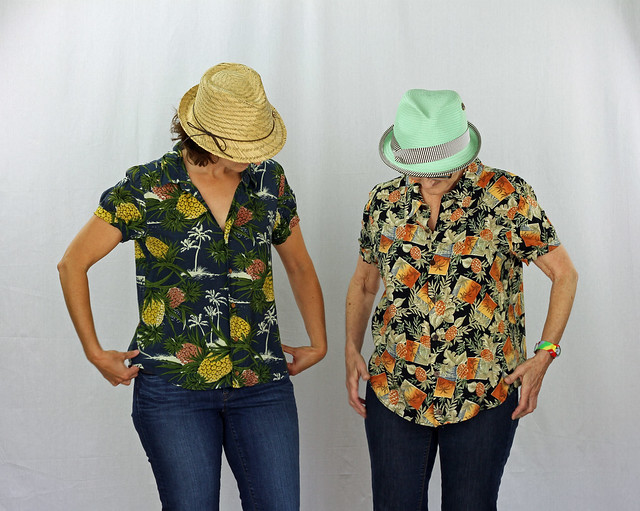Refashion with Mom - Pineapple Shirts