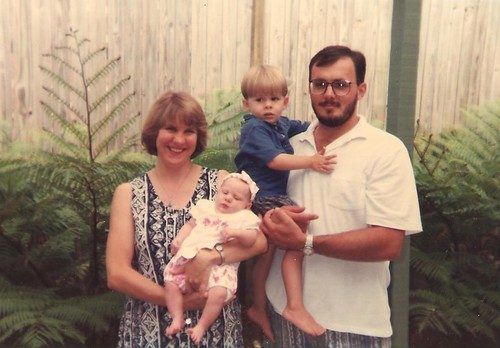 The perfect Tupperware family circa 1996