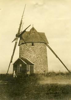 Le Moulin or Diggers landmark Etaples, France, 1918