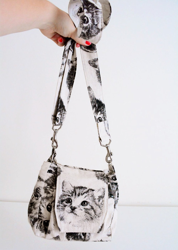 Kitten Head Camera Bag