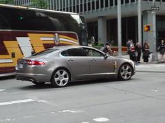 sports car(0.0), automobile(1.0), automotive exterior(1.0), executive car(1.0), wheel(1.0), vehicle(1.0), performance car(1.0), automotive design(1.0), sports sedan(1.0), rim(1.0), bumper(1.0), jaguar xf(1.0), sedan(1.0), personal luxury car(1.0), land vehicle(1.0), luxury vehicle(1.0), supercar(1.0),