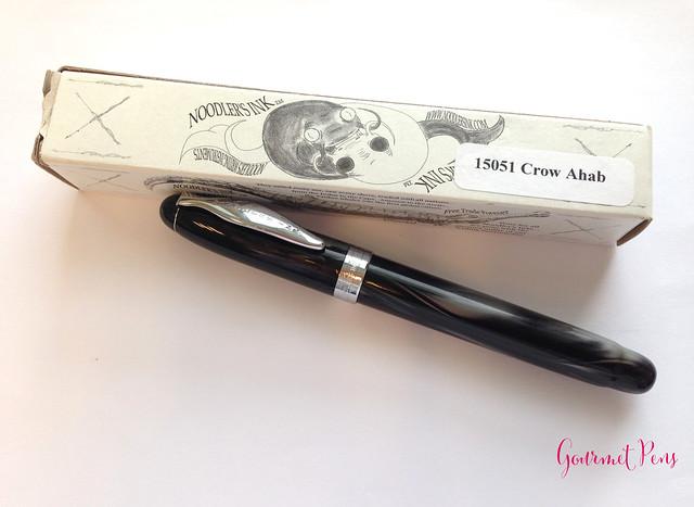 Review: Noodler's Ahab Crow Fountain Pen - Flex @AndersonPens