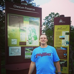 Sean at Chesco Len Preserve