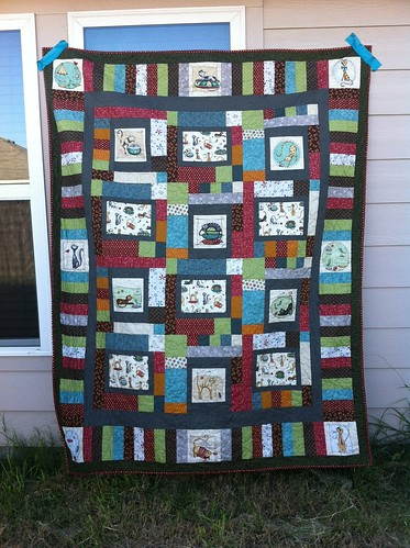 Purrsnickitty Quilt.