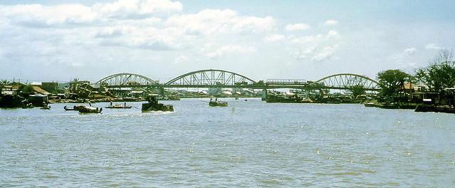 Saigon 1967 - Cầu Tân Thuận