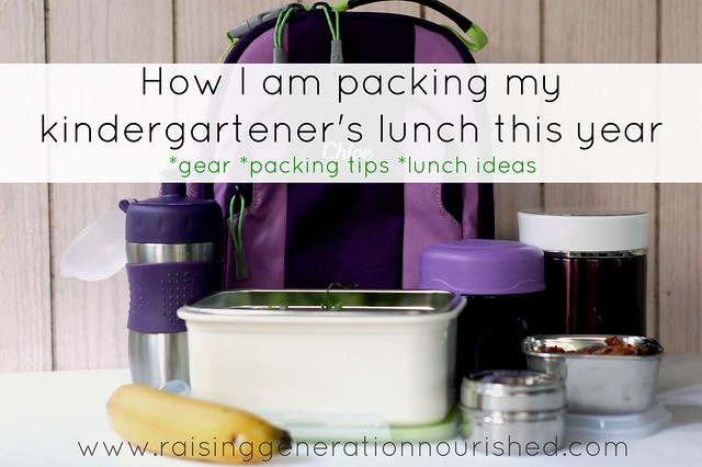 How I Am Packing My Kindergartener's Lunch This Year :: Gear, Packing Tips, & Lunch Ideas