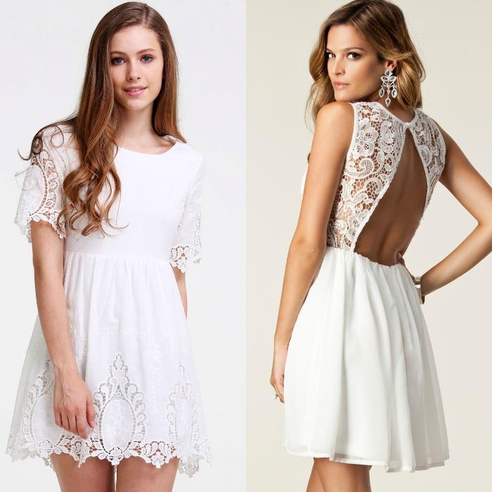 vestido blancos verano