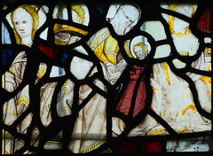fragments (including St Anne and the Blessed Virgin)