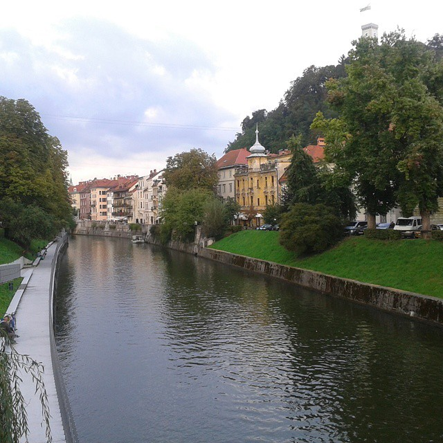 Ljubljanaa halkova joki
