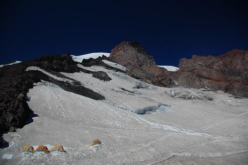 Camp Muir on Mount Rainier Washington