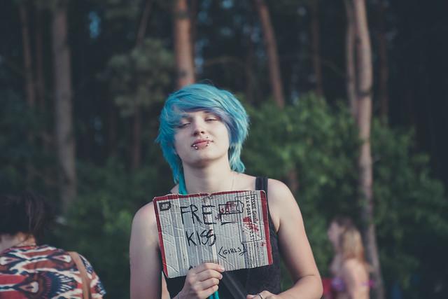 woodstock poland 2014 free kisses girls flickr
