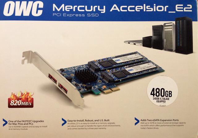 Carte OCZ PCI-e Accelsior_E2
