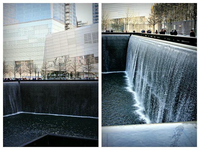 WTC-muistomerkillä