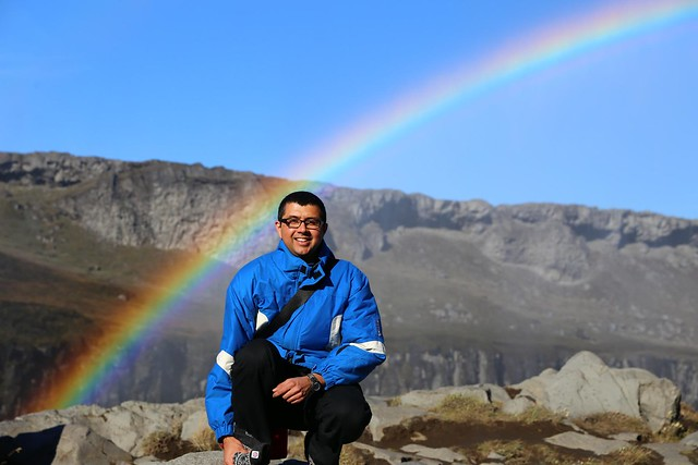 Neerav Bhatt - Rainbow at Dettifoss waterfall Vatnajökull National Park Northeast Iceland