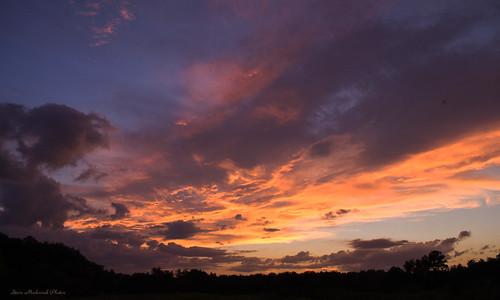 sunset summer sky newyork clouds evening nikon summertime warwick paintedsky d3100 smack53