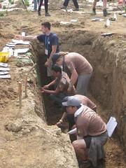 archaeology, soil, geology,
