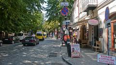 Stare miasto w Tbilisi. Ulica Leselidze.