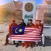 Selamat Hari Malaysia 2014 | Kibarlah Jalur Gemilang Di Mana Jua Anda Berada :) | Khunjerab Top at Khunjerab Pass at 4700m, PAK-CHINA Border | Overland to #Khunjerab Pass via #Karakoram Highway | Road Less Travelled | Northern #Pakistan