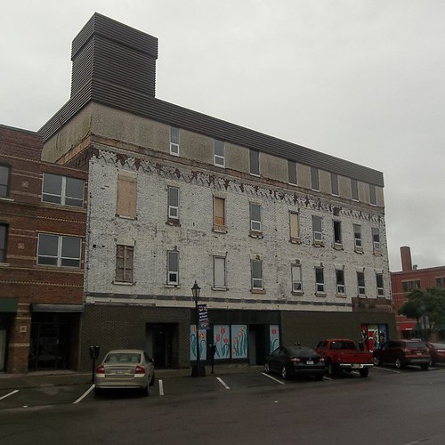 Stripped building, University and Kent, Charlottetown