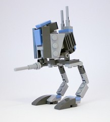 LEGO STAR WARS - CUSTOM AT-RT REPUBLIC WALKER - CLONE WARS - Light Blue