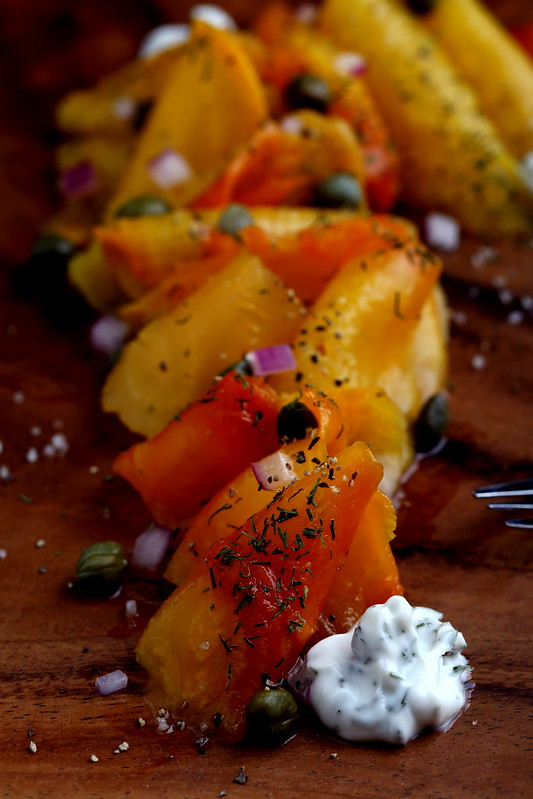Salt-Roasted Golden Beets