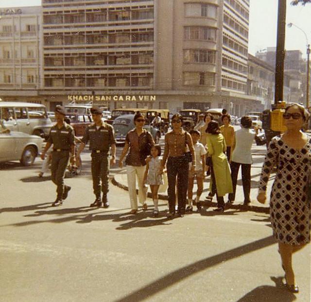 SAIGON 1970 by Michael Belis - Lam Son Square - CARAVELLE HOTEL