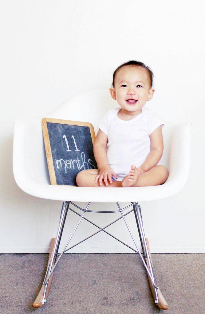 serene joy at 11 months