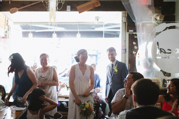 Celine Kim Photography intimate High Park Parkdale restaurant wedding Toronto wedding EM-40
