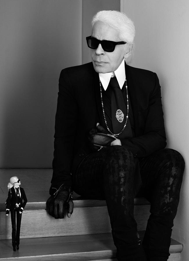 4 Barbie Karl Lagerfeld