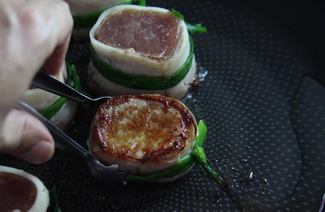 Solomillo con salsa de mango  (33)