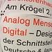 Analog Mensch  Digital—Design an der Schnittstelle