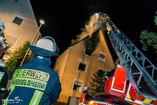Gebäudebrand Rüsselsheim 23.09.2014