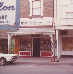 Murray Street 116 in 1975 Rawling and Freak - Harold Moran hairdresser