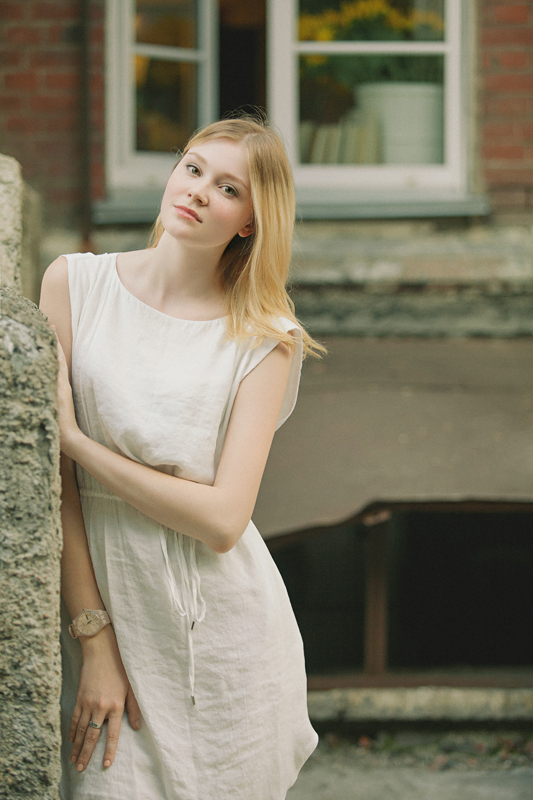 Фотосессия девушки, прогулка по городу, фотосет Новосибирск