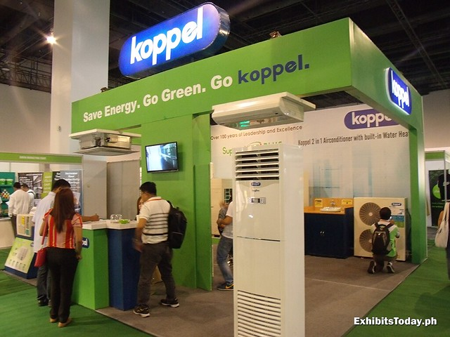 Koppel Exhibit Booth