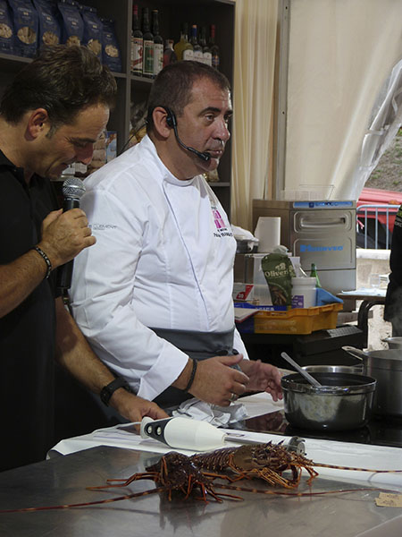 chef langoustes