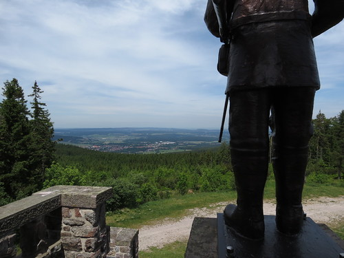 Blick vom Denkmal