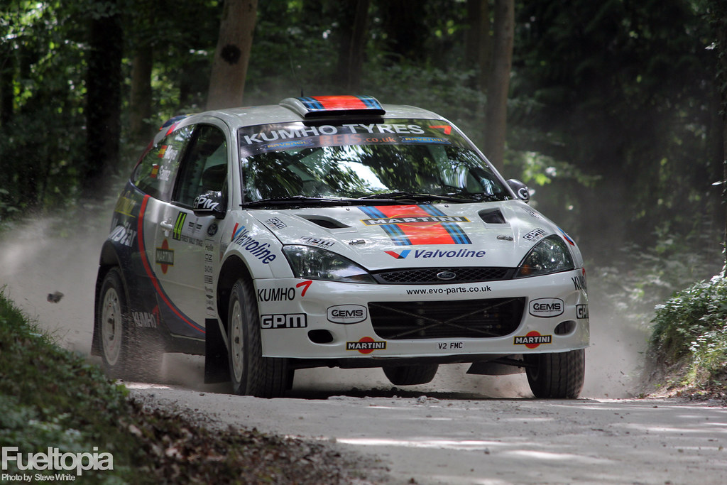 Goodwood Festival of Speed 2015 - Forest Rally Stage
