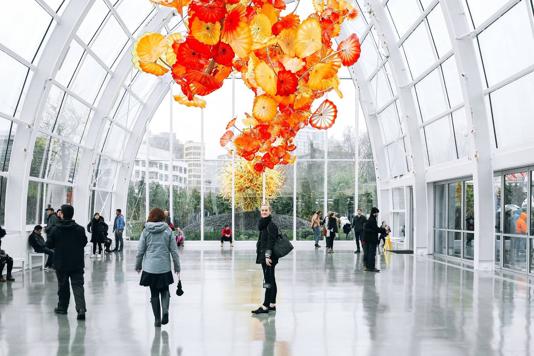 Chihuly Garden & Glass, Seattle, Washington