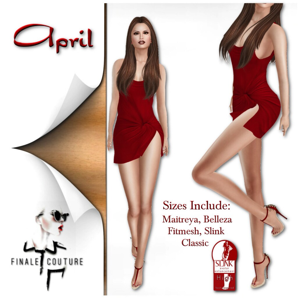 Finale Couture April Poster - SecondLifeHub.com