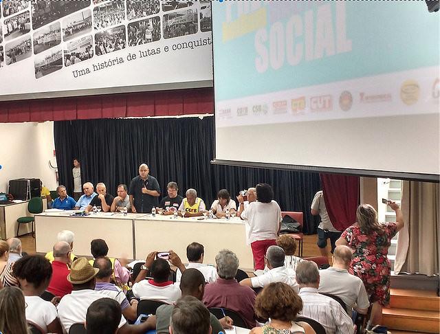 Entidades se reunieron en la 13ª Jornada Nacional de Debates entre las centrales y DIEESE  - Créditos: Brasil de Fato