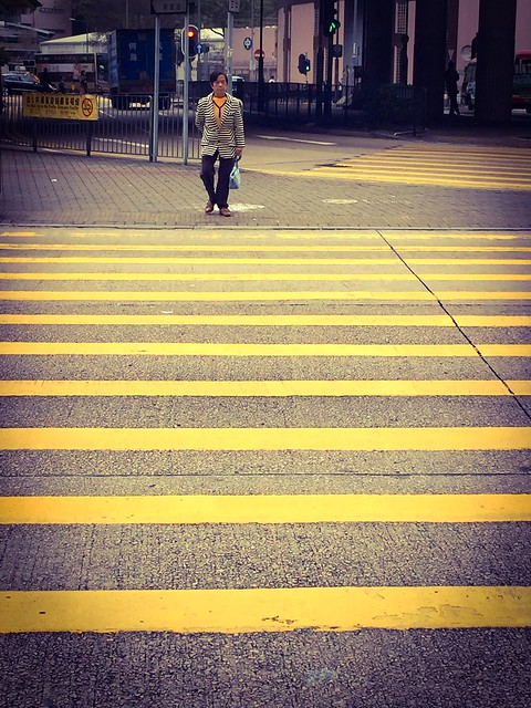 Please mind the yellow line