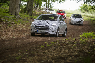 Neuer Opel Corsa – Validierungsfahrt